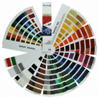 Our color charts - MAESTRIA