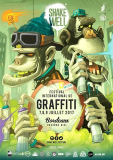 affiche 2017 shakewell festival