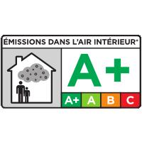 Etiquetage des émissions en polluants volatils des produits de construction et de décoration : A+