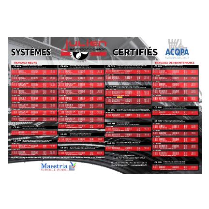 Nos systèmes certifiés ACQPA
