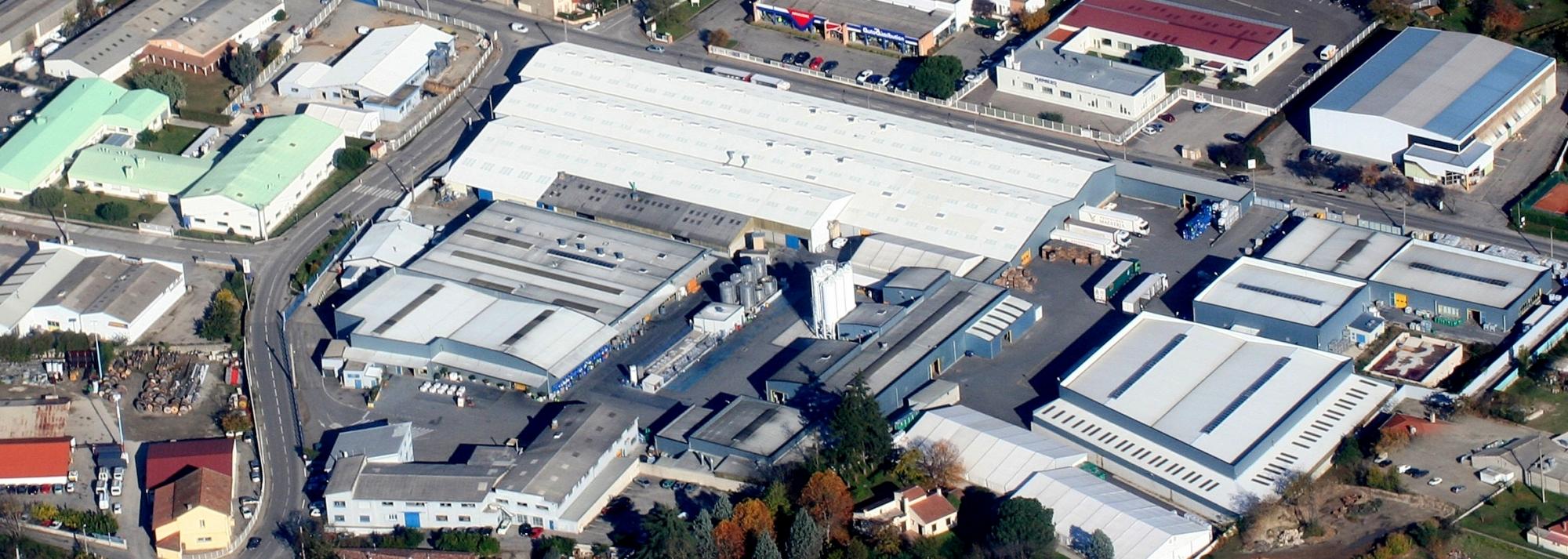 Vue Aerienne de l'usine Maestria