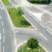 Peinture blanche de marquage pour les routes